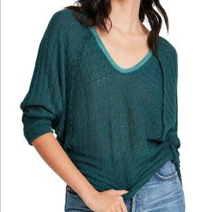 Free People Thein's Hacci Top